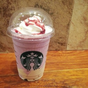 summer berry panna cotta frappuccino