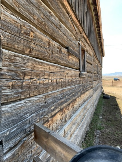 An early 1900's barn outside of Hot Springs, MT