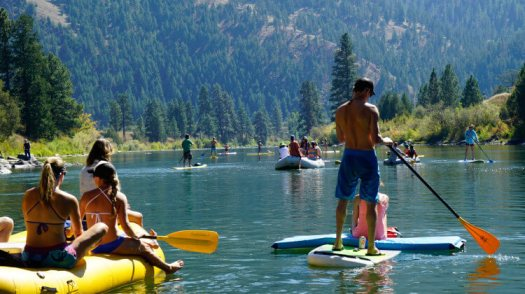 Clark Fork River Float