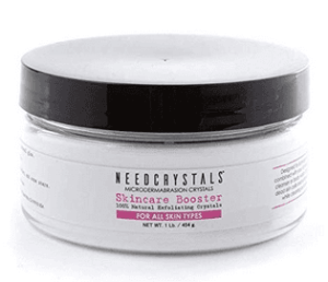 NeedCrystals Microdermabrasion Crystals, DIY Face Scrub. Natural Facial Exfoliator for Dull or Dry Skin Improves Acne Scars, Blackheads, Pore Size, Wrinkles, Blemishes & Skin... by NeedCrystals