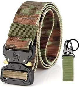 Strongest Rigger Black Tactical Belts Quick Release Police Law Enforcement Duty Waistband Emergency Survival Fire Fighter Travel Molle Mission Shooters Tools Gear Military Battle Utility Nylon Webbing