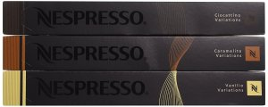 Nespresso OriginalLine, Vanilio, Ciocattino, Caramelito, 30 Count