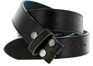 Classic Vintage Distressed Casual Jean Leather Belt Strap