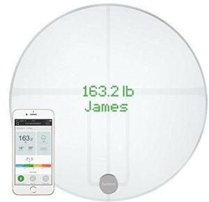 QardioBase 2 Wireless Smart Scale and Body Analyzer - Arctic White