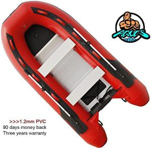 Heavy-Duty 2018 NEW Thermobonding 1.2mm Thickness PVC 9.8' Inflatable Fishing Boat