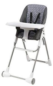 Evenflo Symmetry Flat Fold High Chair, Taylor
