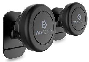 Magnetic Mount, WizGear Universal Stick On (2 PACK) Dashboard Magnetic Car Mount Holder