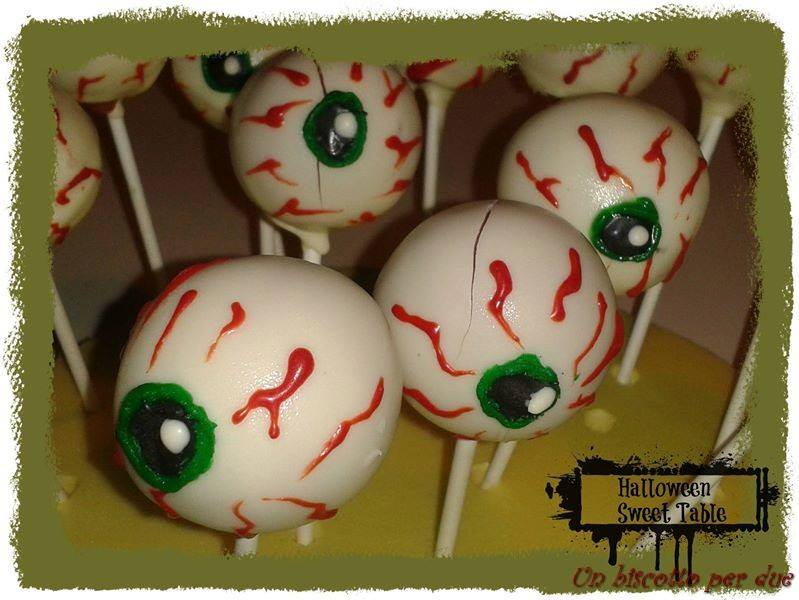 Eyes Cake pops