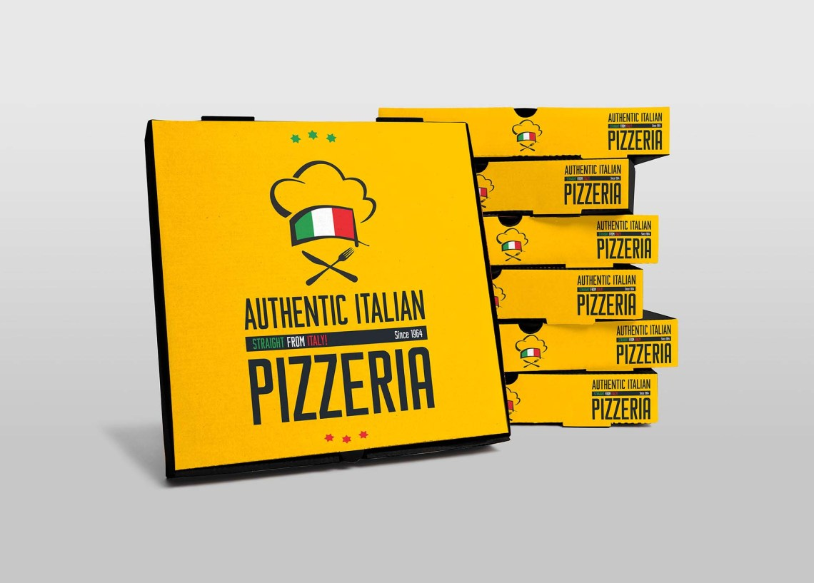 Download Free Pizza Boxes Mockup (PSD)