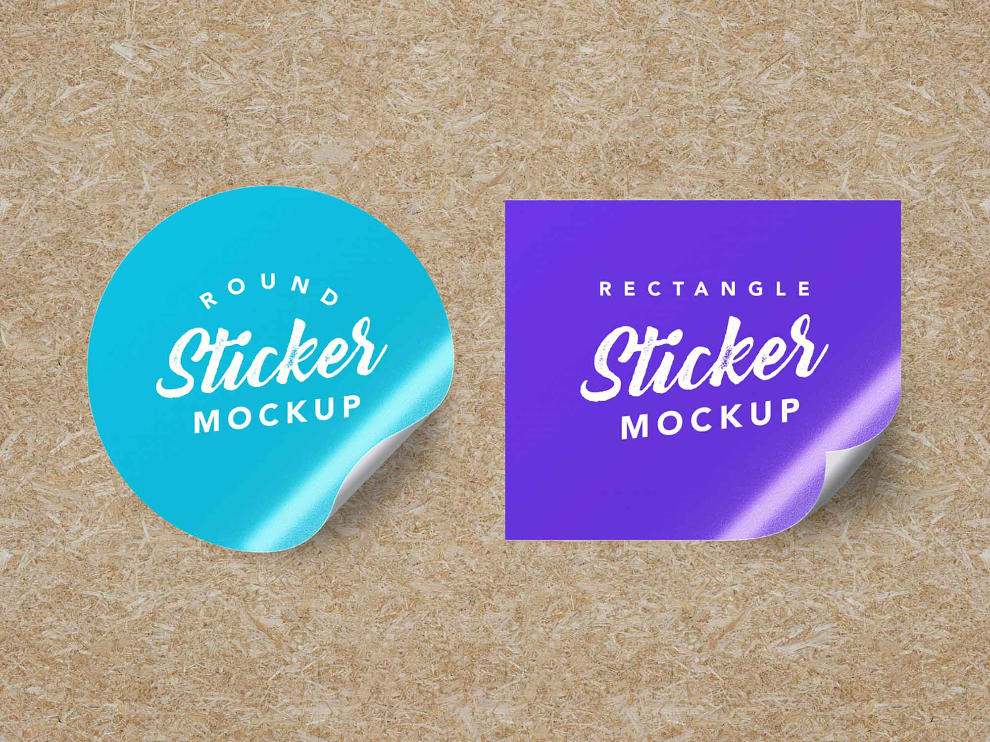 30% off all premium plans. Free Round Rectangle Sticker Mockup Psd