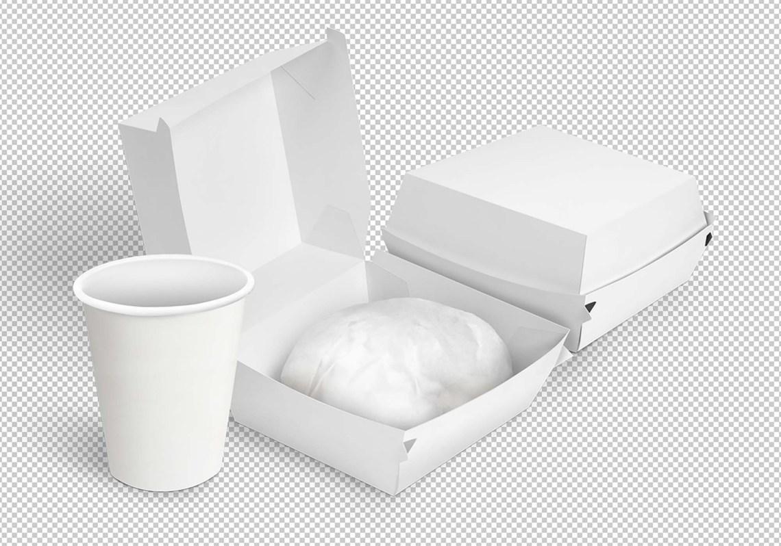 Download Free Burger Box Mockup (PSD)