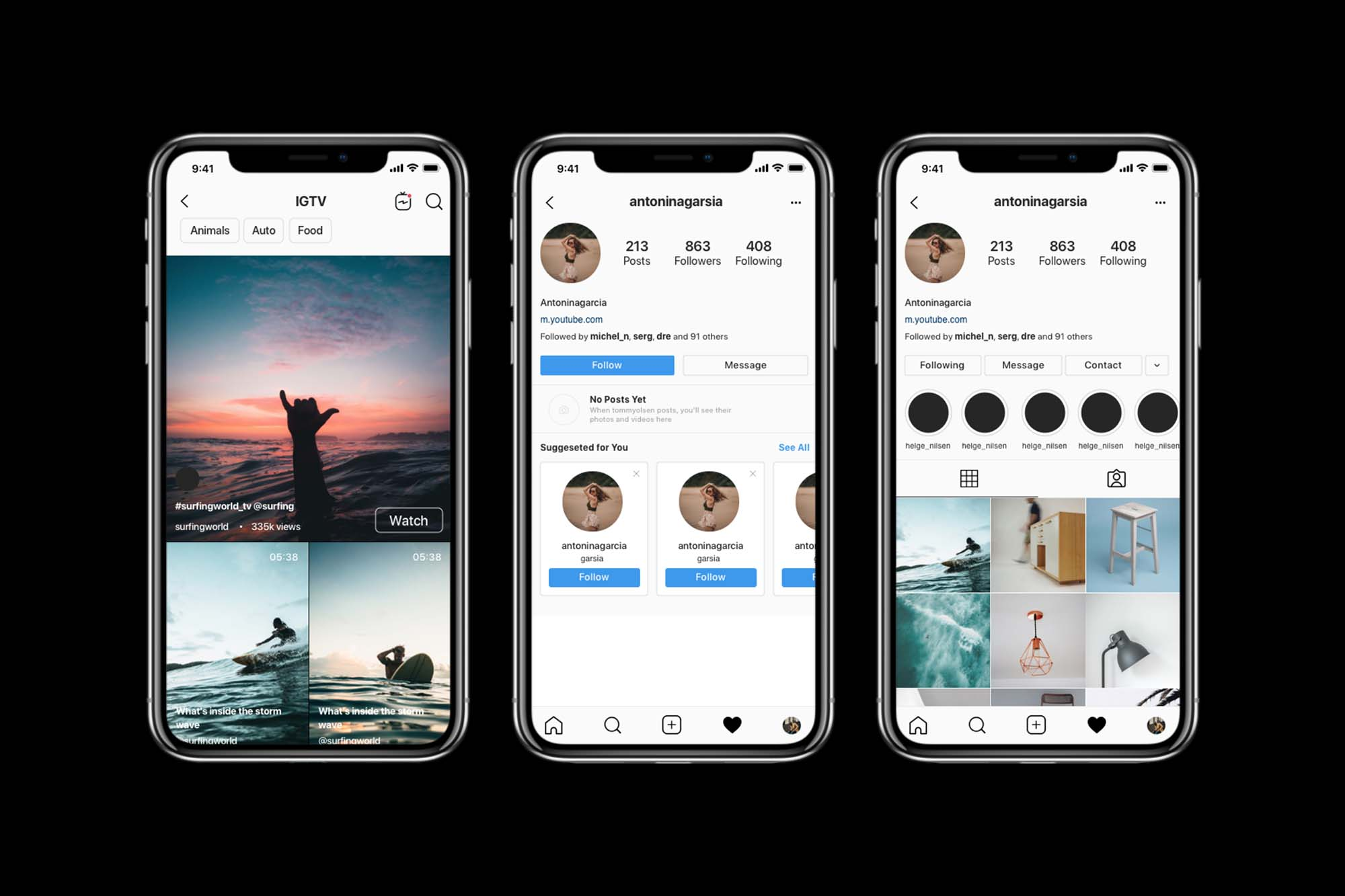 You can join facebook, twitter, instagram, and many others. Free Instagram Mockup 2020 Psd Sketch Figma