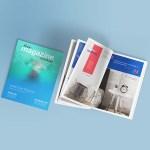 Free Letter Size Magazine Mockup Psd