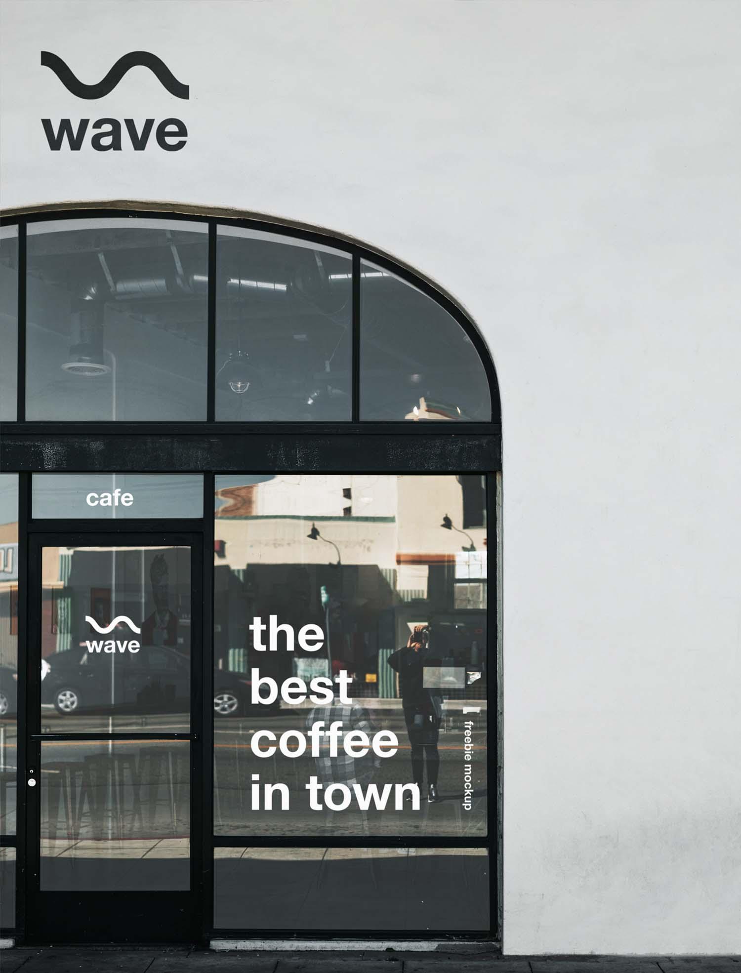 Use them in commercial designs under lifetime,. Free Restaurant Storefront Mockup Psd