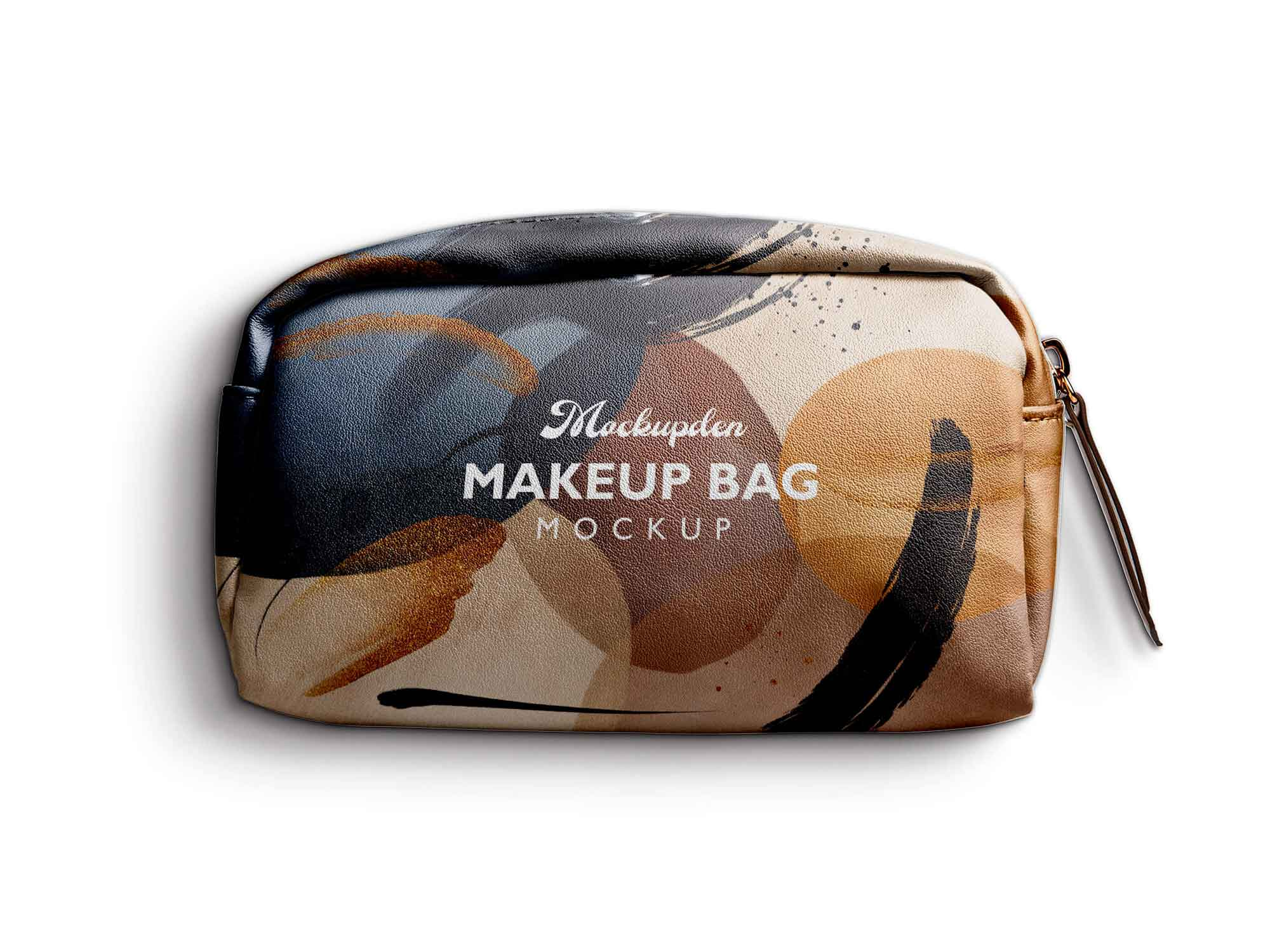 This free has clean and impressive looks to give an amazing branding. Free Makeup Bag Mockup Psd