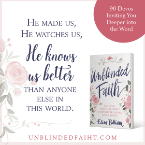 He made us, He watches us, He knows us better than anyone in this world.