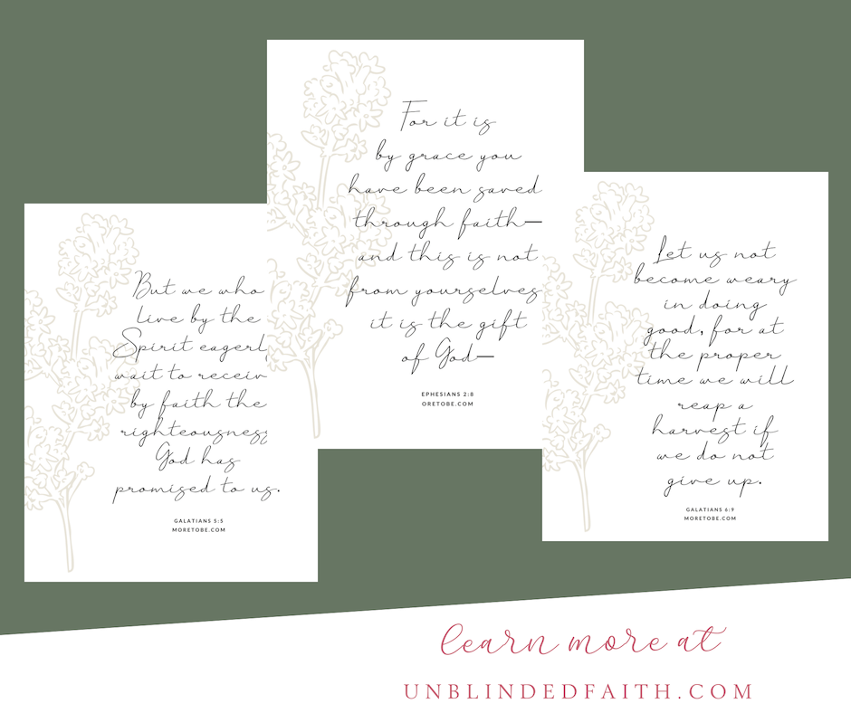 Give the Gift of Faith Print Set 3