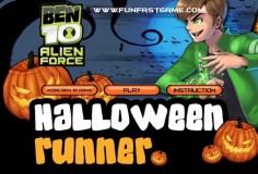 Ben 10 Alien Force Halloween Runner