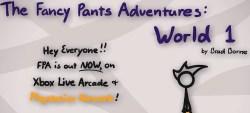 Fancy Pants Adventures World 1 (FPA 1)