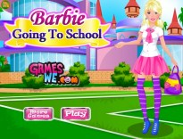 Barbie Going to School