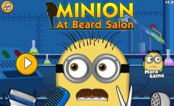 Minion At Beard Salon