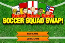Sports Heads Cards: Soccer Squad Swap