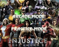 injustice gods among us super hero game