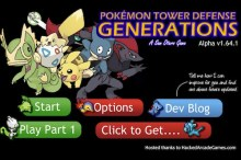 Pokemon Tower Defense 2 Generation