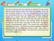 Typing Expert Autumn game