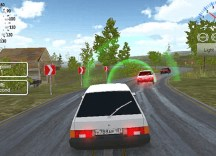 Russian Car Driver HD (Unity3D)