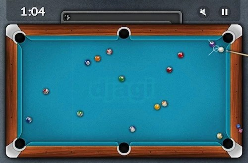 Billiard Single Player - Unblocked Games