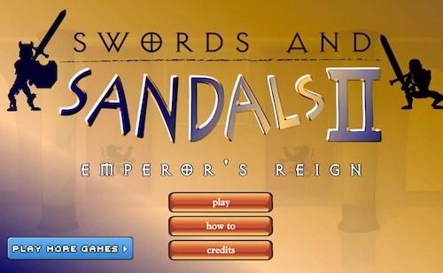 Swords Reign Unblocked Sandals Ganes And Emperor's 2 KF1cTlJ