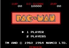 Pac-Man Classic Version (NES)