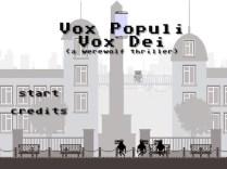 Vox Populi, Vox Dei (A Werewolf Thriller)