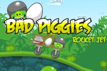 Bad Piggies Rocket Jet