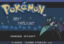 Pokemon Sky Twilight (GBA)