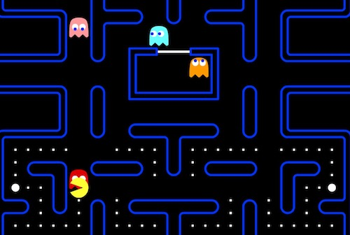 PacMan Hacked - Unblocked Games