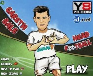Gareth Bale Head Football