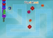 Shape Defense Hacked: A Tower Defense Game