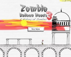 zombie balloon heads 3