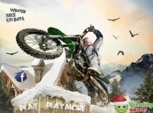 Winter Bike Stunt