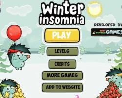 winter insomnia