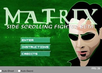 Matrix Side Scrolling Fighter Beta Hacked