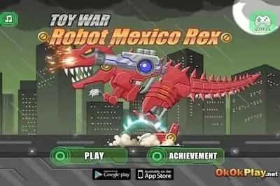 Toy War: Robot Mexico Rex