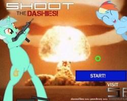 shoot dashies