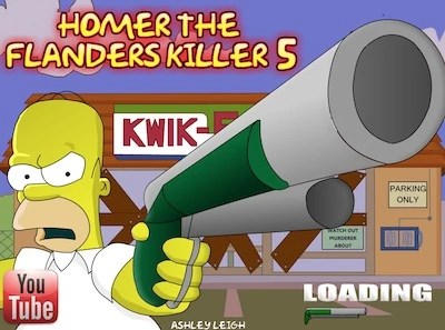 Homer and Flanders Killer 5