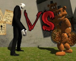 freddy vs slenderman
