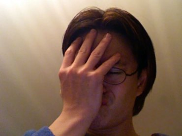 Facepalm by Joe Loong (flickr user JoeLogon)