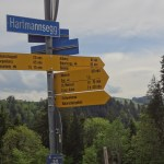 Signs with directions