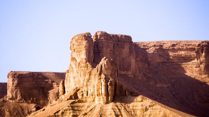 Road to Mekka. Northwest of Ryadh.